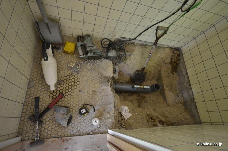 トイレ 排水位置の変更