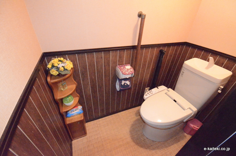 洋式トイレ(和風→洋式)完成写真