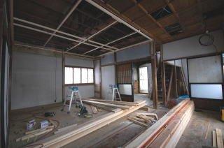 旧和室、施工前の状態