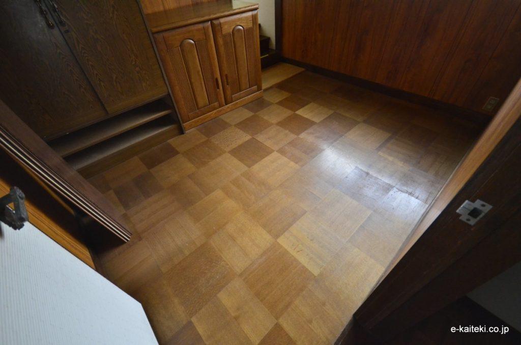 床の張替 施工前